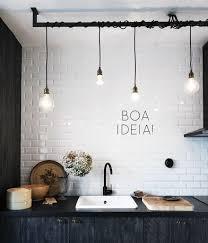 Industrial Style Lighting For A Kitchen Decoração Industrial 60 Inspirações Fotos E Ideias Decor