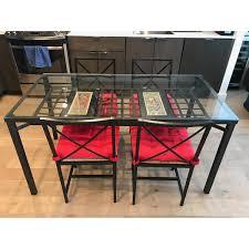 ikea granas dining table w 4 chairs aptdeco