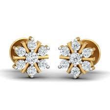 malabar diamond earrings beautiful malabar gold and diamonds earrings jewellry s website