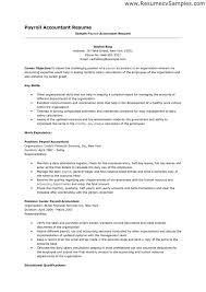 Payroll Resume Template Resume Sample Resume Construction Accountant Sample Resume