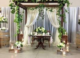 wedding decorating ideas simple wedding gazebo decoration decorating in simple simple