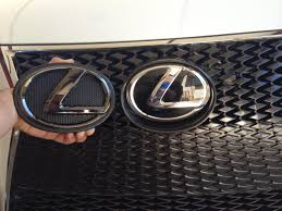 lexus is 200t vs is250 lexus black pearl emblems installed clublexus lexus forum