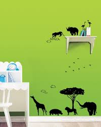 africa wall stickers for nursery wallstickery com
