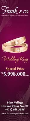 harga wedding ring frank co best offers harga spesial wedding ring giladiskon