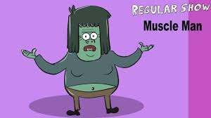 how to draw muscle man regular show drawing and coloring step