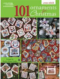 leisure arts 101 ornaments for cross stitch pattern