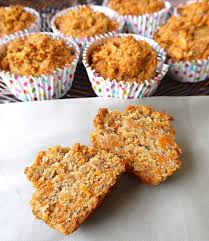 carrot cake breakfast muffins paleo gluten free perchance to cook