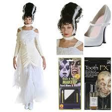 Bride Frankenstein Halloween Costume Ideas Diy Bride Frankenstein Costume Makeup Halloween Costumes Blog