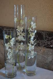 orchid centerpieces minimalist wedding simple centerpieces white wedding decor
