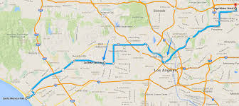 Route 66 Map by Route 66 Day 6 U2013 Santa Monica To Pasadena 2for66
