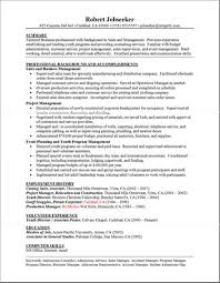 Example Of A Good College Resume by Sample Project Manager Resume 6 Project Cv Example Uxhandy Com