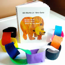 brown bear brown bear color learning chain