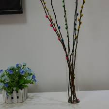 Bamboo Wall Vase Diy Creative Wall Mounted Cylindrical Vase Clear Glass Vase Lucky
