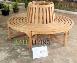 teak garden tree bench indonesia teak garden and indoor