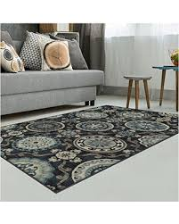 7 X 8 Area Rugs Amazing Deal Superior Abner Collection Area Rug 10mm Pile Height