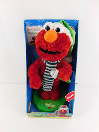 fisher price sesame street animated holiday elmo new in box very