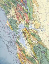 San Francisco Area Map by Cgs History 2010 Geologic Map Of California