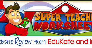 super teacher worksheets a review and giveaway edukate and inspire