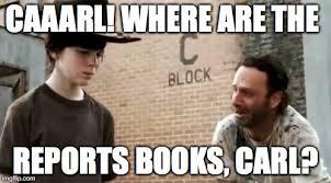 Carl Walking Dead Meme - walking dead carl latest memes imgflip