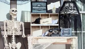 Boutique Reception Desk Dead U0026 Breakfast Inn Halloween Front Porch