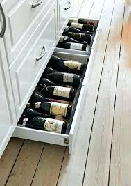 kitchen drawers ideas wine storage ideas kitchen wine drawers wine storage ideas for small