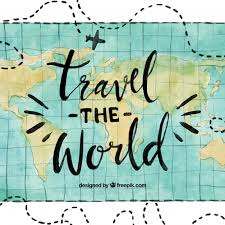 how to travel the world for free images Water color travel the world background vector free download jpg