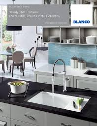Blanco Silgranit Sink Brochure By  Including Blancoamerica - Blanco silgranit kitchen sink