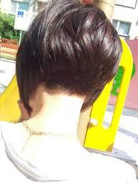 short stacked bob haircut shaved super short stacked bob hairstyles me pinterest short stacked