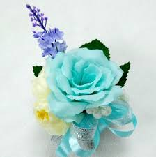 Turquoise Corsage Online Get Cheap Blue Flower Corsage Aliexpress Com Alibaba Group