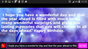 birthday wishes and cards android apps on google play