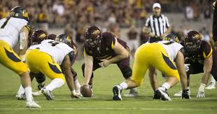 asu football report offensive line in flux with oregon looming