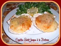 cuisiner noix st jacques coquille jacques à la bretonne tellement délicieuse