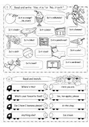 esl kids worksheets revision exercises for young learners