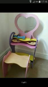 child s dressing table and chair small child s dressing table stool in west sussex gumtree