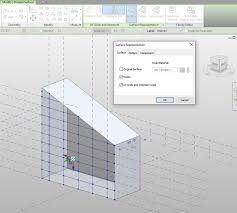 Panel Curtain System Solved Curtain System From Mass Horizontal Segments Autodesk