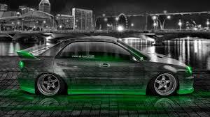 subaru light green subaru impreza wrx sti jdm tuning crystal city car 2015 el tony