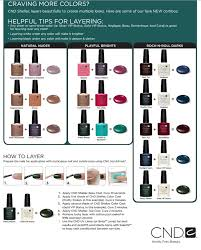 cnd shellac color layering cnd shellac layering colors http
