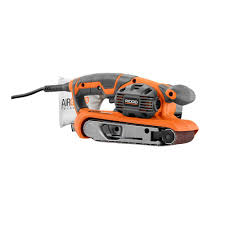 Wood Floor Sander Rental Home Depot by Ridgid 3 In X 18 In Heavy Duty Variable Speed Belt Sander With