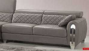 Modern Gray Sofa by Gray Leather Sofa U2013 Helpformycredit Com