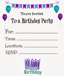Sweet 16 Birthday Invitation Cards Free Printable Birthday Invitations For Kids Freeprintables