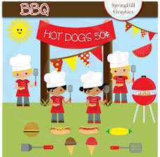 barbecue clipart backyard bbq pencil and in color barbecue