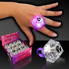 halloween rings flashing jewel ring 1 3 8