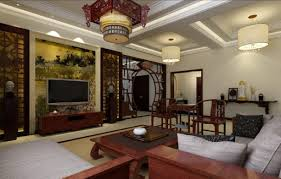 Interior  Lovable Asian Style Contemporary Interior Design With - Chinese style interior design