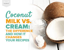 Table Cream Vs Heavy Cream Coconut Milk Vs Cream The Difference And How It Changes Your Recipes
