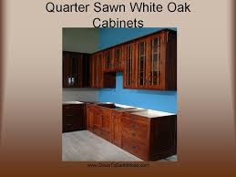 quarter sawn white oak cabinets u2013 early american stain u2013 showroom