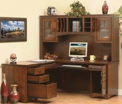 l shaped office desk with hutch for home comfortable l shaped