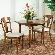 bassett mirror charles x 3 piece dining room set flap stores