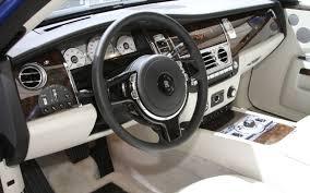 Roll Royce Ghost Interior 2012 Paris Rolls Royce Does Fine Art With Art Deco Themed Phantom