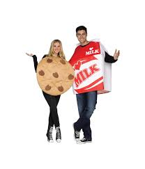 couples costume cookie and milk couples costume food costumes