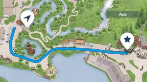 Walt Disney World Resorts Map by My Disney Experience U0027get Directions U0027 Launches Helps You Navigate